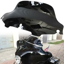 "Black 8"" Wave Windshield Wind Deflector F HD Touring FLHT FLHTC FLHX FL 96-13"