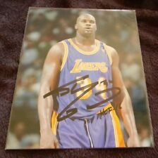 "SHAQUILLE O'NEAL ""SHAQ"" LAKERS  AUTO SIGNED AUTO 8X10 COLOR PHOTO"