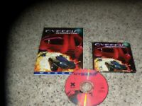 Cyberia 2 Resurrection Disk 2 only (PC, 1995) with manual