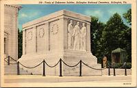 Vtg Tomb of Unknown Soldier Arlington National Cemetery Virginia VA Postcard