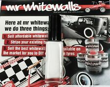10ml Tyre Lettering/Whitewall Touch Up Paint - Sick of Tyre Pens?