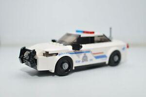 Custom LEGO Police car RCMP Toy Model Ford Interceptor
