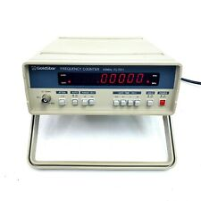 Vintage Goldstar Frequency Counter Fc 7011 100mhz Tester Testing Equipment