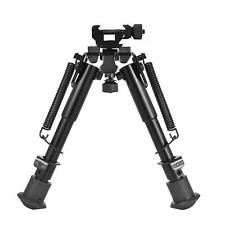 Cvlife 6-9 Inches Tactical Bipod Adjustable Spring Return with 360 Degree Swivel