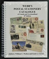Webb's Postal Stationery Catalogue Canada & Newfoundland 8th ed Unitrade Press