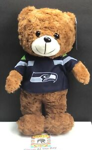Seattle Seahawks NFL  / Plush Teddy Bear w Team LOGO Jersey / Stuffed Animal