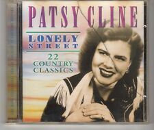 (HH444) Patsy Cline, Lonely Street, 22 Country Classics - 2001 CD