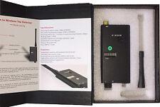 Cell Mobile Phone GPS Spy Bug Wireless RF Signal Detector GSM CDMA 2G 3G 4G WiFi