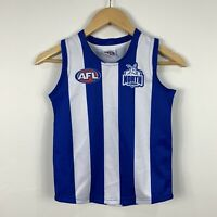 AFL Kangaroos Youth Size 6 Football Jersey Sekem Official Good Condition