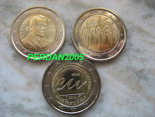 LOTTO 3 X 2 euro  SPAGNA ITALIA BELGIO 2010 FDC UNC