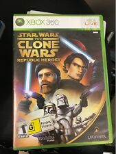 star wars the clone wars republic heroes xbox 360