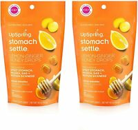 UpSpring Stomach Settle For Nausea,Gas,Bloating,Morning Sickness Relief (2 PACK)