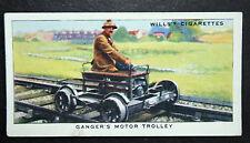 Pre Nationalisation Railway Ganger's Motor Trolley   Vintage Card # VGC