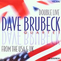 Dave Brubeck Quartet - Double Live From The U.S.A. And U.K. [CD]