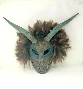 Black Panther ERIK KILLMONGER Cosplay Halloween Costume Mask Party Scary
