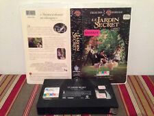 The Secret Garden / Le jardin secret  (VHS )  tape & clamshell case FRENCH