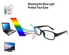 2 X Slim Unisex Reading Glasses Designer Vision Anti Glare Blue Light Computer