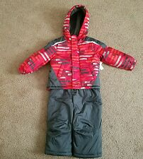 NWT Boys Toughskins Snowsuit, size 2T