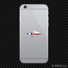 Texas Fly Fishing Cell Phone Sticker Mobile TX fish lure tackle flies