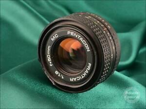 Praktica B  Pentacon Prakticar Auto 50mm f1.8 - 645