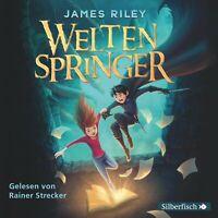 RAINER STRECKER (SPRECHER) - JAMES RILEY: WELTENSPRINGER 4 CD NEW