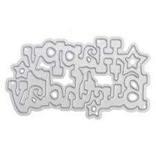 1x Brithday Metal Cutting Dies DIY Scrapbooking Album Paper Card Embossing Craft