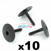 10x Side Skirt & Undertray Plastic Fasteners / Clips - Fits BMW 07147296886