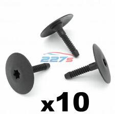 10x Lato Gonna & Undertray elementi di fissaggio in plastica/Clip-si adatta a BMW 07147296886