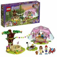 LEGO 41392 Friends Nature Glamping Outdoor Adventure Playset with Tent and Olivi