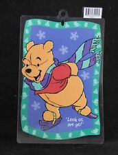 "Disney Christmas ""Pooh"" Suction Cup Window Decoration"