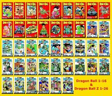 Dragon Ball 1-42! Original 1-16 & Dragon Ball Z 1-26 Collection Set - BRAND NEW
