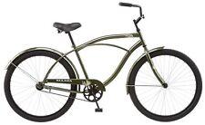 Kulana Easy Cruiser Bike Extra Large Frame 26 in Men's Hiku Steel Bicycle Green