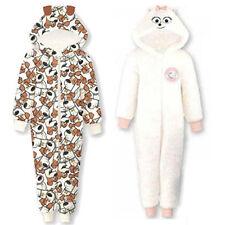 Pyjamas blancs pour fille de 2 à 16 ans