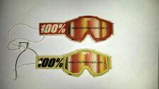 100% Lufterfrischer Brille Accuri Race Duftbaum Vanille Airfresher MX Motocross