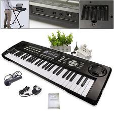 54 Keys Multifunctional LED Screen Digital Electronic Keyboard Electric Organ UK