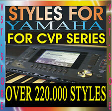 YAMAHA STYLES CVP-305 CVP-307 CVP-309 CVP-405 CVP-407 CVP-409 503 505 509 CVP