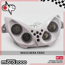 MASCHERA FARO 4 FARI NERO LED TRIANGOLO YAMAHA 50 YQ Aerox //R 1997-2007