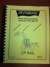 Pettibone Model 360 Speed Swing Parts Manual
