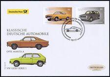 BRD 2017: Opel Manta und VW Golf! Post-FDC Nr. 3297+3298! Berliner Stempel! 1707