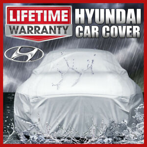 HYUNDAI [OUTDOOR] CAR COVER ☑️ All Weather ☑️ Waterproof ☑️ Warranty ✔CUSTOM✔FIT