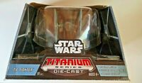 "2006 Star Wars Ultra Titanium Series 6"" Die-Cast Tie Fighter NIB ***LOOK***"