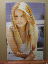 Jessica Simpson Hot girl man cave car garage Vint Poster 1999 1280