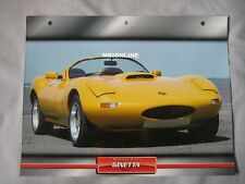 Ginetta G33 Dream Cars Card