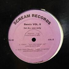"MAXI 12"" SCREAM RECORDS Remix Vol 8 LOTUG / ALMIGHTY RSO .. SMS 08"
