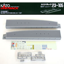Kato 23-105 Island Platform End #4 (1 set) (N scale)