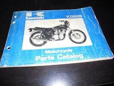 1977 Kawasaki KZ650 -B1 Parts Catalogue CATALOG MANUAL 61Pgs
