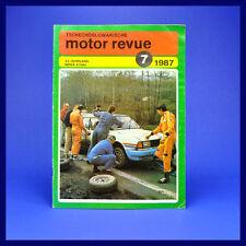 DDR ▶▶ CSSR-Motor-Revue Motorrevue 7/1987