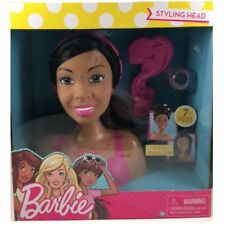 Barbie Doll Styling Head, 7 Piece small -African American