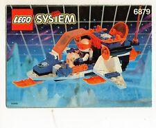LEGO 6879-1 Blizzard Baron    NOTICE/ INSTRUCTIONS BOOKLET / BAUANLEITUNG