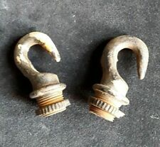Solid Iron Open Ceiling Hooks 1/2 inch(?) Male Thread